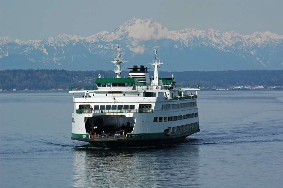 Getting to Saltspring Yurt Vacation by WA State Ferries