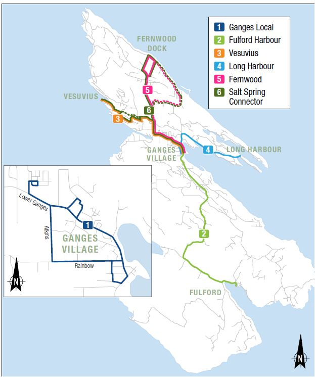 Getting Around Saltspring - Public Transit