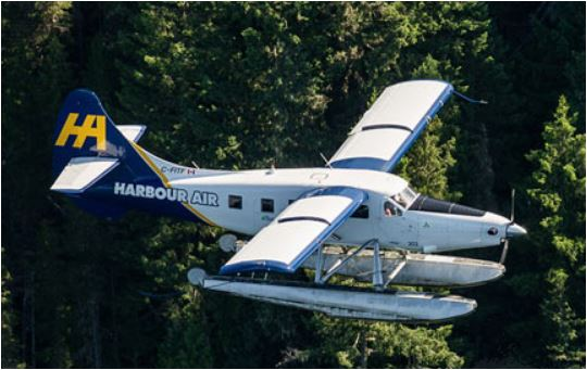 Getting to Saltspring Yurt Vacation by Harbour Air